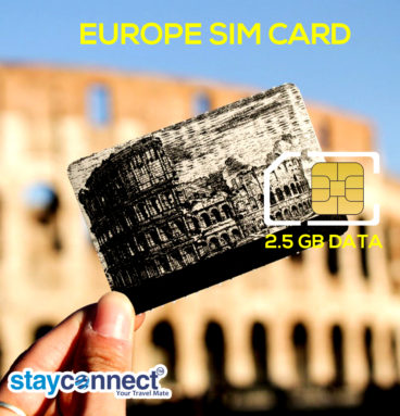 Buy International SIM Card for Europe 4