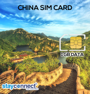Buy International SIM Card for China 1