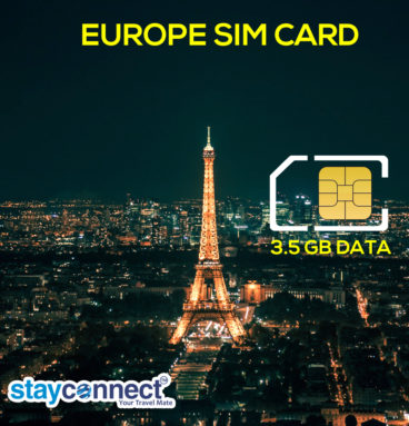 Buy International SIM Card for Europe 6