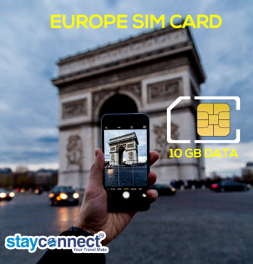 Buy International SIM Card for Europe 2