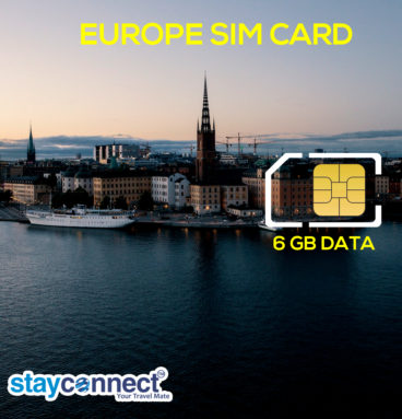 Buy International SIM Card for Europe 9