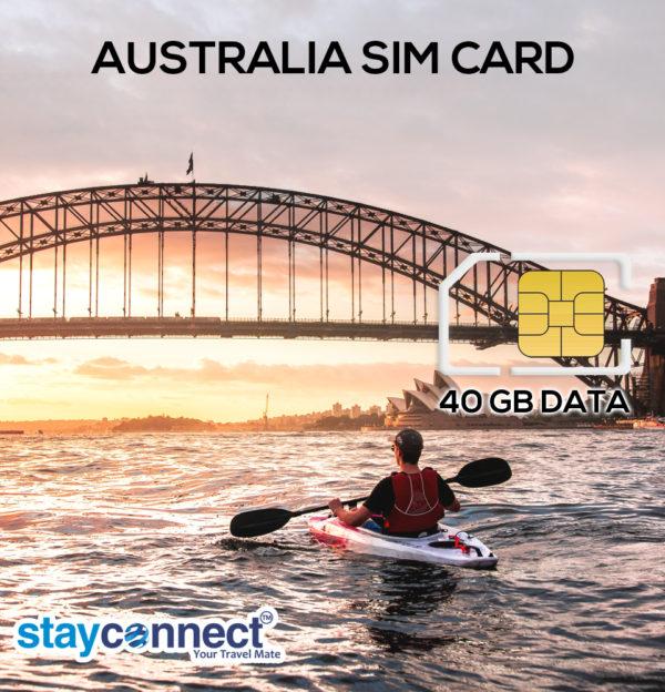 AUSTRALIA 40 GB PLAN FOR 35 DAYS 1