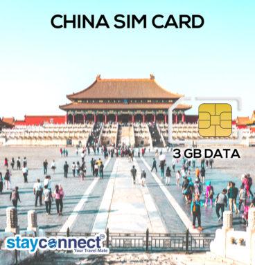 Buy International SIM Card for China 3