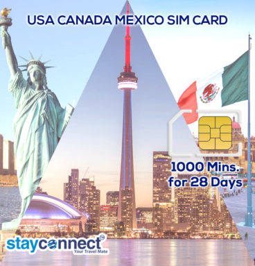 Buy International SIM Card For Mexico 1
