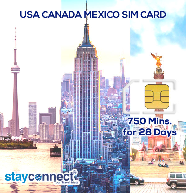 USA CANADA AND MEXICO (PINK) UNLIMITED DATA PLAN FOR 28 DAYS 1